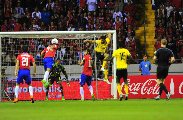 hexagonal Costa Rica vs Jamaica