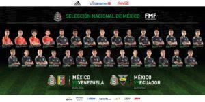 Convocatoria de la Selección de México