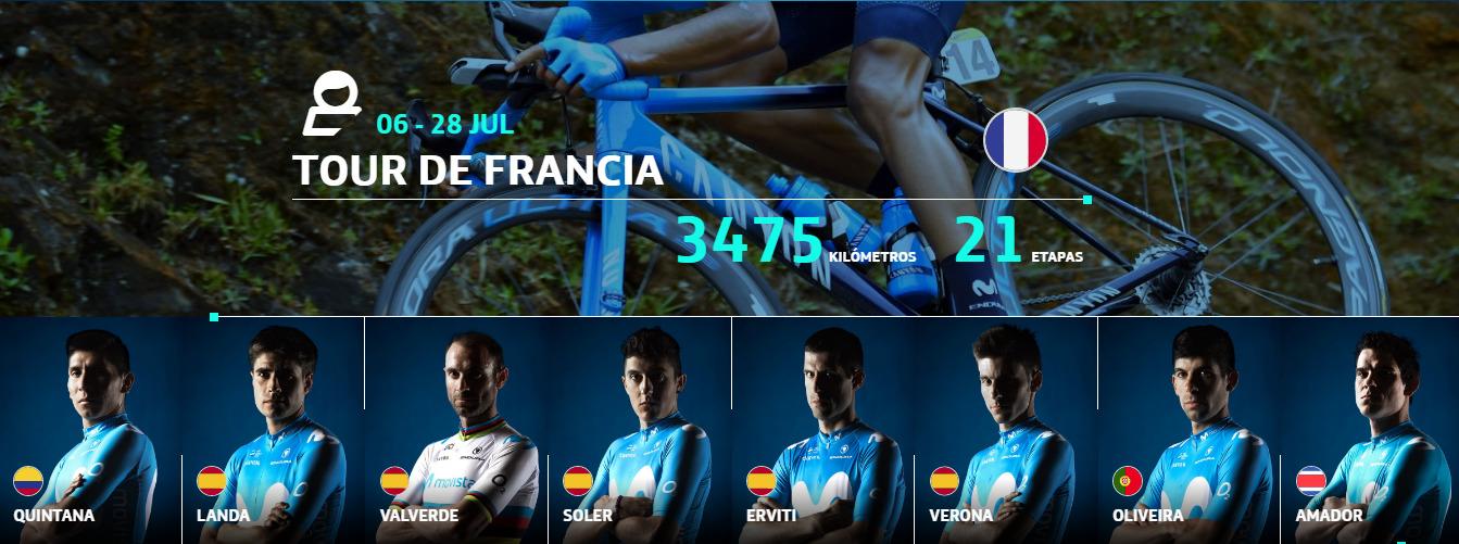 Movistar Team - Tour de Francia 2019