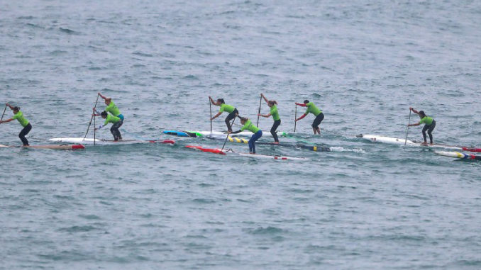 Juegos Panamericanos Lima 2019 - Surf carrera SUP femenina