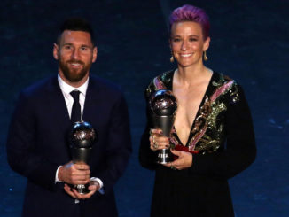 Premio The Best 2019 - Lionel Messi y Megan Rapinoe