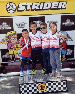 Strider World Championship 2019 - Ignacio Campos, Ignacio Jiménez, Franco Castillo y Sofía Jiménez