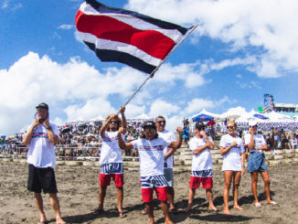 World Surfing Games 2019 - Costa Rica team