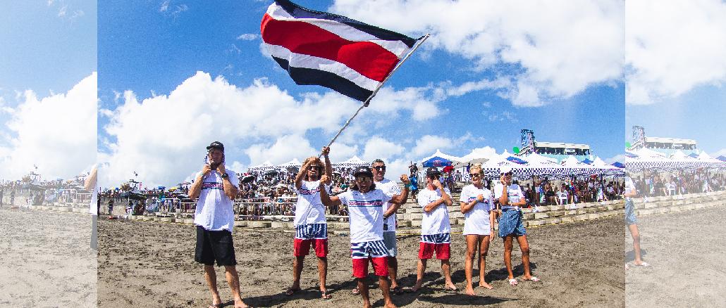 World Surfing Games 2019 - Costa Rica team