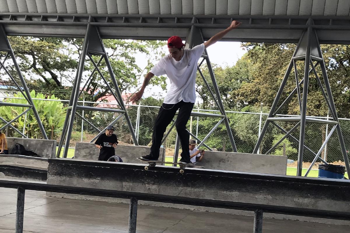 Campeonato Nacional de Skateboarding 2019 - Novena fecha - Hagen Moya