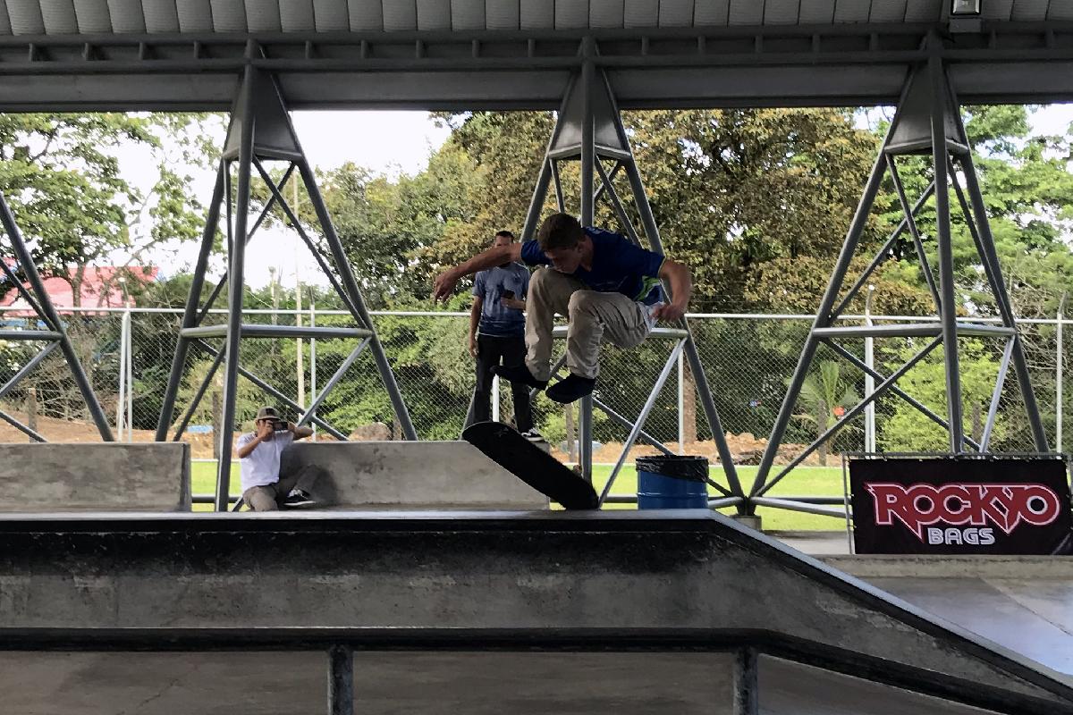 Campeonato Nacional de Skateboarding 2019 - Novena fecha - Jean Carlo Jiménez