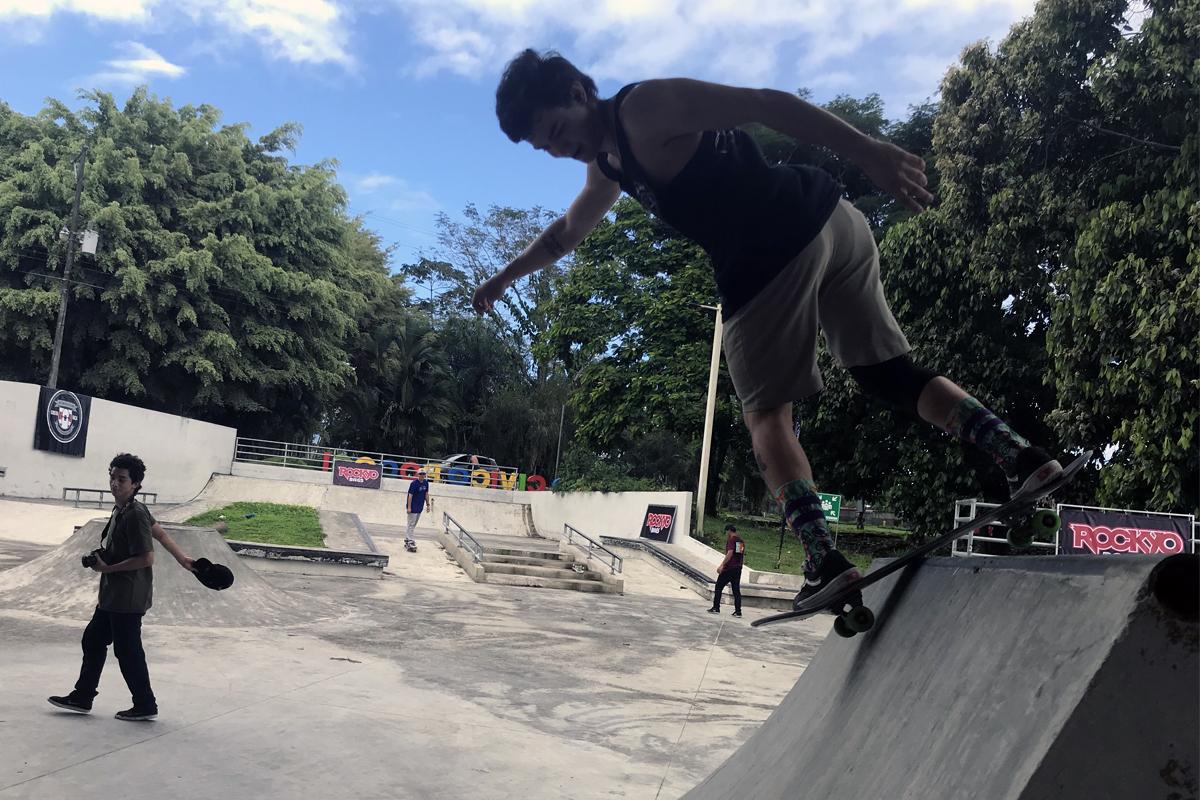 Campeonato Nacional de Skateboarding 2019 - Décima fecha - Johan González
