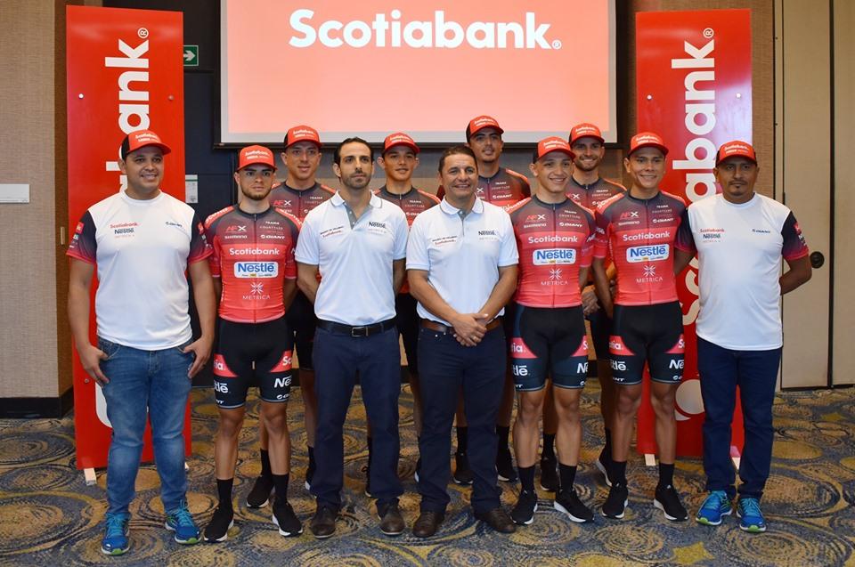 Equipo de Ciclismo Scotiabank Nestlé Métrica 2019