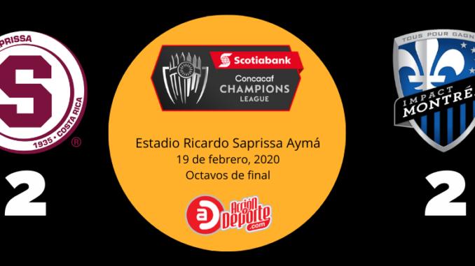 Saprissa vs Impact - CONCACAF Champions League 2020
