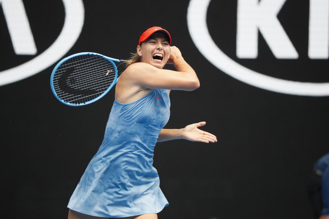 María Sharápova - su carrera deportiva