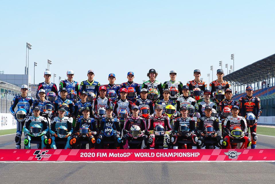 Pilotos de MotoGP 2020