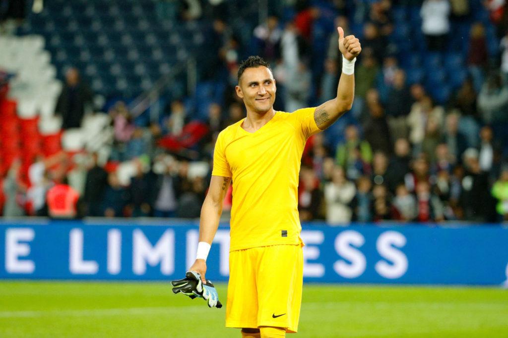 Keylor Navas del PSG vs Angers Ligue 1 - 2019