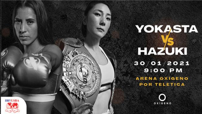 Yokasta Valle defenderá su título, ante la japonesa Sana Hazuki d