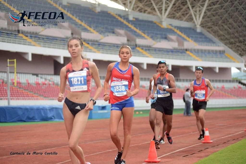 Alegna González y Noelia Vargas Mena