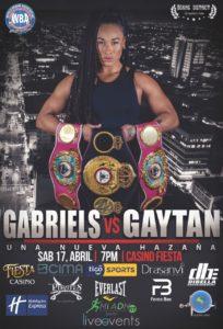 Gabriels vs Gaytán - 17 de abril 2021