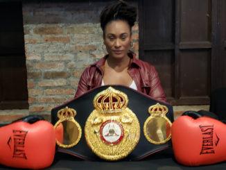 Hanna Gabriels - campeona mundial en las 147 y 154 libras