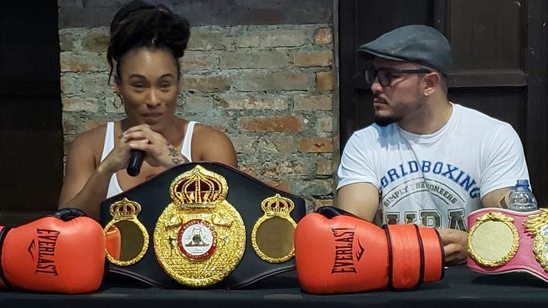 Hanna Gabriels - campeona mundial en las 147 y 154 libras b