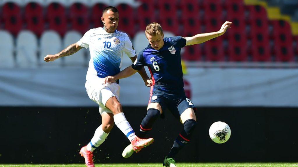 Estados Unidos 1 a 0 Selección Preolímpica de Costa Rica
