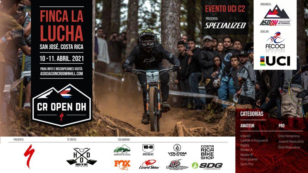 Costa Rica Open DH 2021 - afiche 1