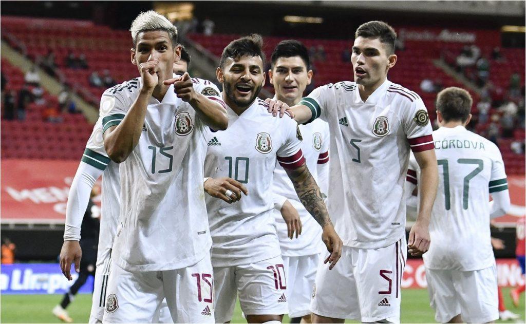 México 3 a 0 Selección Preolímpica de Costa Rica