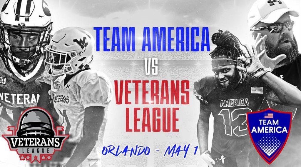 Orlando Bowl - Team America v Veterans League
