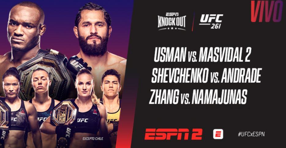 UFC 261 - Kamaru Usman vs. Jorge Masvidal 2.0