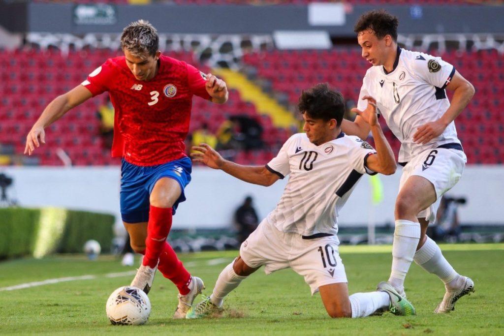 Selección Preolímpica de Costa Rica 5 a 0 República Dominicana