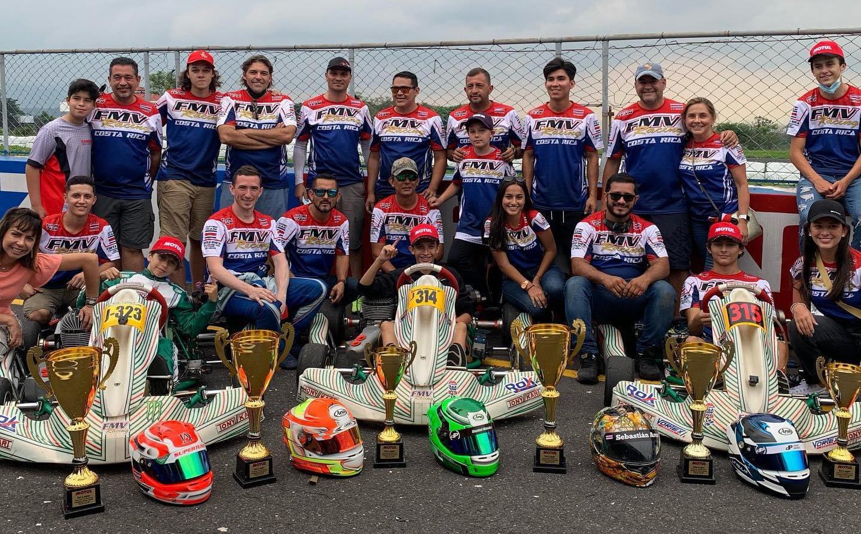 Costa Rica en el Campeonato Centroamericano de Kartismo 2021