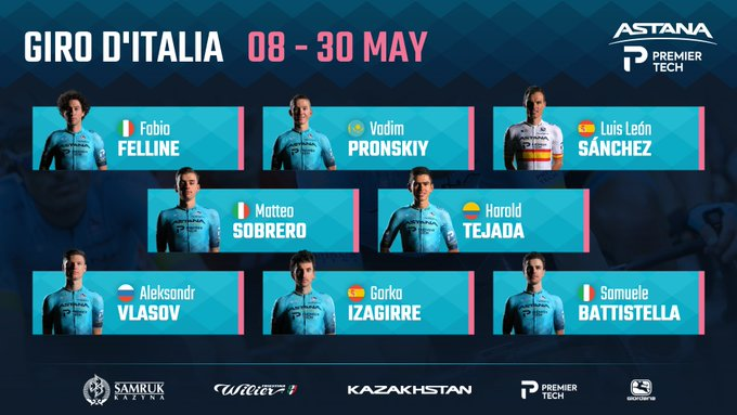 Astana-Premier Tech - Giro de Italia 2021