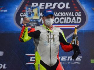 Iván Sala - Campeonato Nacional de Motovelocidad Repsol 2021 - AccionyDeporte