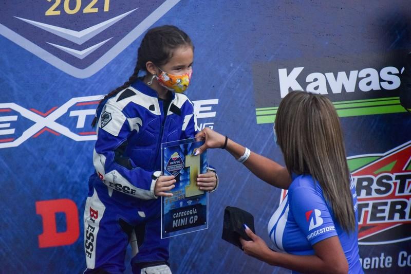 Samanta Jiménez - Mini MotoGP - Motovelocidad 2021 - tercera fecha
