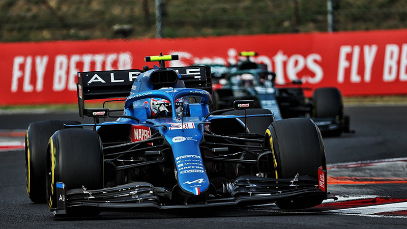 Esteban Ocon (Alpine) - Gran Premio de Hungría 2021 - AccionyDeporte