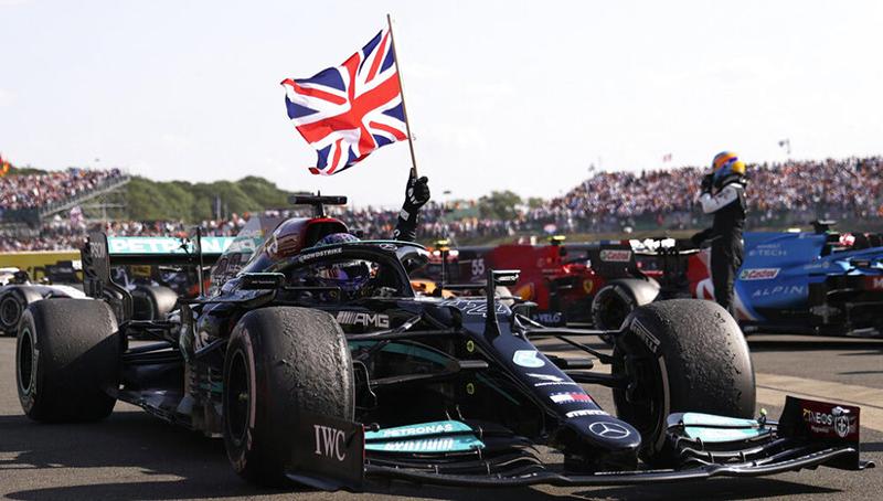 Lewis Hamilton - Gran Premio de Gran Bretaña 2021