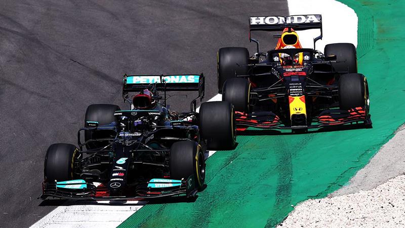 Lewis Hamilton - Triunfó en el Gran Premio de Portugal 2021