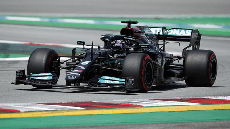 Lewis Hamilton logro su pole 100 en el Gran Premio de España 2021