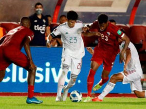 Ruta a Qatar - Concacaf - Panamá 1 a 1 México b