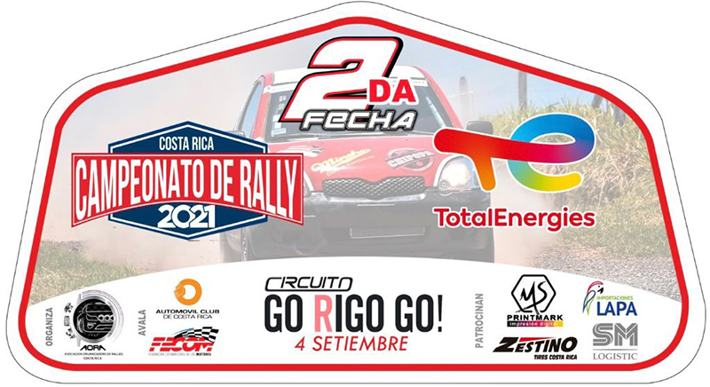 Segunda fecha - Campeonato Nacional de Rally 2021 - afiche